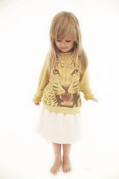 Great Leopard face sweatshirt from Popupshop for spring 2014 kids fashion