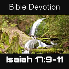 Image result for Isaiah 17:9-11