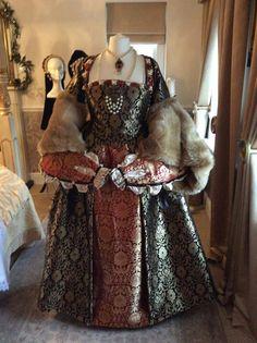 Tudor Court Renaissance Fair costume ladies dress