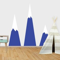 Vinyl decals and graphics for your home, window or vehicle. Wall prints for your home, nursery or children's bedroom Wall Prints, Vinyl Decals, Nursery, Mountains, Image, Design, Room Baby, Baby Room, Babies Rooms