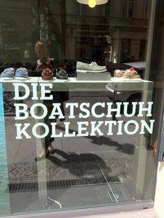 Boatschuh - WAS soll das sein? - #Denglish at its best!