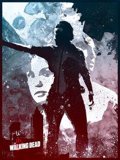 The Walking Dead - bySteve Fraschini  Artist: Website|| Behance|| Twitter|| Facebook