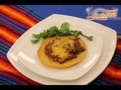 TOSTADAS DE CARNE GRATINADA (MIERCOLES 04 ABR.18 VIVIANA EN TU COCINA) - YouTube