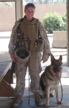 Marine Corporal Megan Levy has been fighting red tape and petitioning the military to adopt her combat dog, Rex, for the past several years. Both were injured while defusing a bomb in 2006, an incident that earned Levy a Purple Heart and cost Rex his sense of smell. In an outrageous turn, the military planned to euthanize the German shepherd until Levy organized a campaign, with the help of U.S. Senator Chuck Schumer, to have him rescued. The pair will be reunited in California later this…