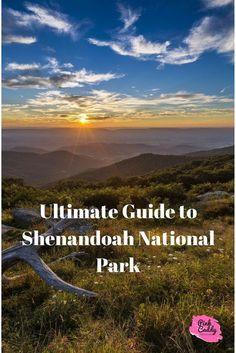 Virginia   Shenandoah National Park   Hiking   The Ultimate Guide to Shenandoah National Park for First-Time Visitors   #hiking #virginia #mountains