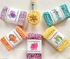 Lullaby Lodge: Dishcloth Crochet Roundup - Six Free Patterns to Make + Free Bonus Pattern Knitting Patterns Free, Free Pattern, Crochet Patterns, Free Knitting, Free Crochet, Crochet Round, Loom Knitting, Crochet Ideas, Crochet Baby