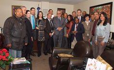 Consulado RD en NY agasaja periodistas y comunicadores