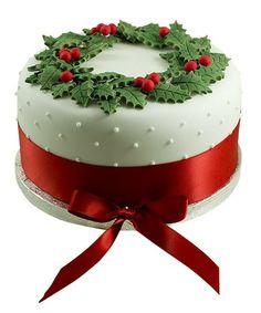 Glorieux Cadeau Christmas Celebration Cake