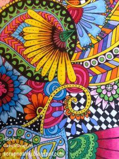 Cathy's ScrapLoft: Loving to Doodle Lately!