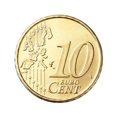 10 Euro Cent Coin Old Style (Common S