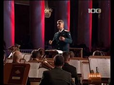 """Soviet military march - """"Solemn March of Rokossovsky"""" (composed by Semeon Tchernetsky, performed by the Leningrad Military District headquarters band)"""