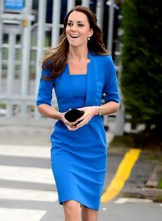 Polyester Halbe Sleeve Knielang Elegant Kleider (1000280) @ floryday.com
