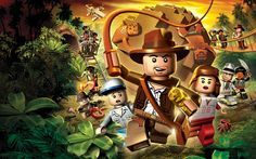 LEGO Indiana Jones - the Original Adventures (Desktop Wallpapers)