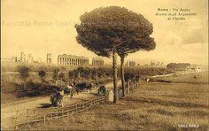 Via Appia Nuova – Acquedotto Claudio Anno: 1920