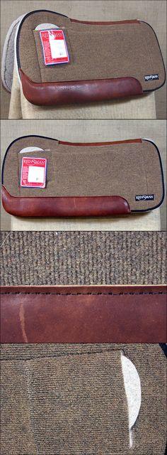 Saddle Pads 183377: Reinsman 1 In. Wool Felt Performance Enhancing Plus Horse Saddle Pad Tan -> BUY IT NOW ONLY: $155.69 on eBay!