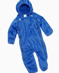 Mei Mei's Chanukah present: The North Face Baby Bunting, Baby Boys Buttery Fleece Bunting