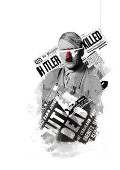 Red Noses - Collage by Selman HOŞGÖR, via Behance
