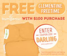 Free Freetime Clementine with $100 purchase