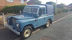 Land Rover Series 3 1975 Tax Exempt 300 TDI in Cars, Motorcycles & Vehicles, Classic Cars, Land Rover | eBay
