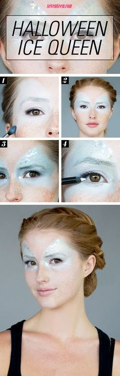 Let's be honest, <i>Frozen</i> has been taking over your life for almost a year! Here's your DIY for the perfect Elsa Ice Queen Halloween makeup.