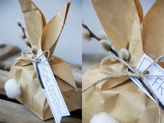 {DIY} Osterverpackung in Hasenform Easter Celebration, Beautiful Prom Dresses, Easter Crafts, Holidays And Events, Easter Bunny, Presents, Gift Wrapping, Holiday Decor, Beautiful Pictures