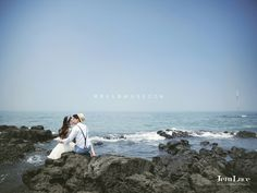 Luce studio Jeju island pre wedding outdoor photoshoot route C. Pre Wedding Photoshoot, Wedding Dress, Photo Packages, Jeju Island, Wedding Company, Photography Packaging, Blue Tones, Photo Reference, Wedding Photography