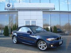 2013 Bmw 1Series 128i 128i 2dr Convertible Convertible 2 Doors Blue for sale in Madison, WI Source: http://www.usedcarsgroup.com/used-bmw-for-sale-in-madison-wi