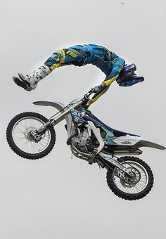 Garrett Ahlf of the Monster Energy Freestyle Motorcross show performs a trick at the 2012 Carlisle Bike Fest Saturday, July 21, 2012. JOHN C. WHITEHEAD/The Patriot-News