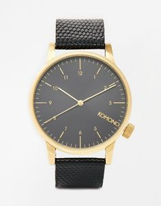 Komono Winston Monte Carlo Gold Detail Watch