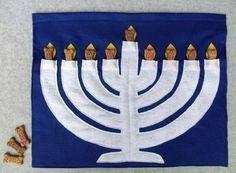 Handmade Hanukkah Holiday Decorations  Family Holiday