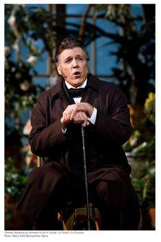 Baritone Thomas Hampson, (Elkhart, 28 giugno 1955) è un baritono statunitense. Qui in una performance al Met come Germont, La Traviata. #VerdiMuseum