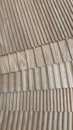 Wood Slat Wall, Wooden Wall Panels, Wood Slats, Wooden Walls, Wood Paneling, Wood Wall Design, Wall Panel Design, Ceiling Design, Interior Walls