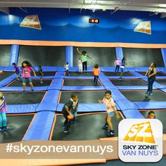 I'm doing this Wednesday!!! I can't wait!! Sky Zone Van Nuys! #TrampolineDreams