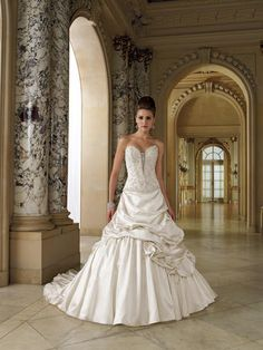 David Tutera for Mon Cheri Bridal - 112202-Falsette