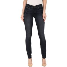 Paige Verdugo Ultra Skinny Jeans in Juna Women's Jeans, Blue ($93) ❤ liked on Polyvore featuring jeans, blue, paige denim jeans, faded jeans, skinny jeans, slim leg jeans and 5 pocket jeans