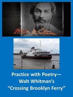 Walt whitman crossing brooklyn ferry essay
