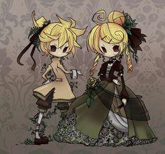 Tags: Anime, Vocaloid, Kagamine Rin, Kagamine Len, Story of Evil