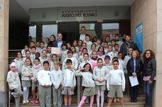 alumnos de 4º de Primaria del CEIP Millares Carló. visitaron el Ayuntamiento de Puerto del Rosario En la actividad participan más de 500 alumnos