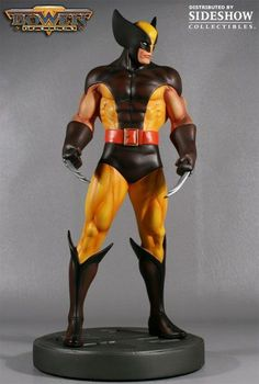 Bowen Designs Wolverine Statue Classic Brown Museum Version Marvel X-Men #267