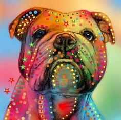 Our artists: Mark Ashkenazi - Bulldog - www.customly.com