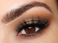 Not sure how to do your makeup for prom? Play up your eye color and learn what shadow shades are best for brown eyes with these makeup ideas and tutorials. Gorgeous Makeup, Love Makeup, Makeup Tips, Beauty Makeup, Makeup Looks, Hair Makeup, Hair Beauty, Makeup Ideas, Sultry Makeup