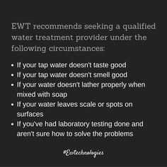 #Watertreatment and conditioning solutions from #EWTechnologies.