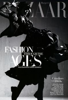 One of my favorite editorials ever: Harper's Bazzar Fashion Through the Ages