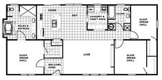 Double Wide Home, Clayton Homes, Sleep Dream, Open Living Area, Master Bathroom, Chill, Home And Family, Washington, New Homes