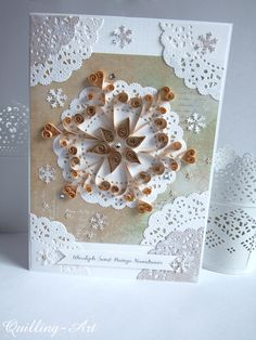 quilling star