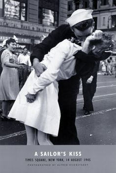 """A Sailor's Kiss"" by Alfred Eisenstaed"