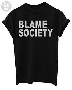 53b166fc8f1a8 Blame Society Funny Mens T-Shirt  Apparel  - Birthday shirts ( Amazon
