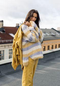 Plaid Scarf, Knit Crochet, Images, Patch, Knitting, Winter, Google, Fashion, Yellow