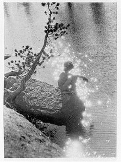 Anne Brigman - Stardust, ca. 1915 / ca. 1940, reworked from earlier negative . Gift of Willard M. Nott.