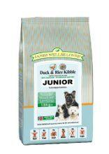James Wellbeloved Junior Duck and Rice Kibble 15 kg by Crown Pet Foods - Just Dog Food - £48.99 http://www.justdogfood.com/james-wellbeloved-junior-duck-and-rice-kibble-15-kg/